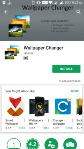 Change Android Wallpaper Automatically