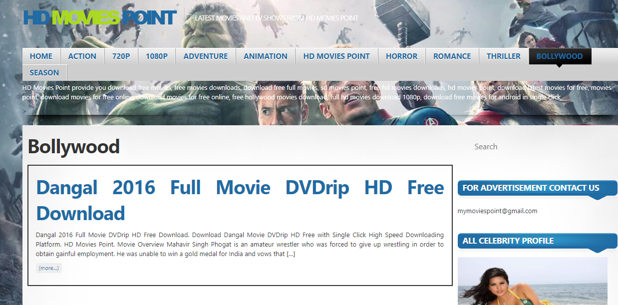 free sites to download hindi dubbed movies