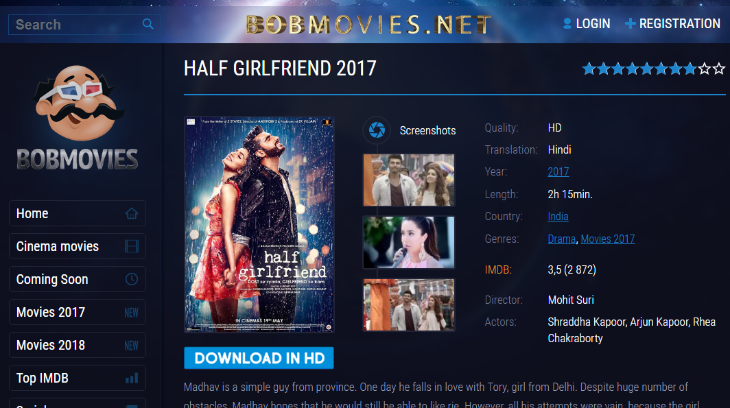Top 13 best bollywood movie downloading sites (2018).