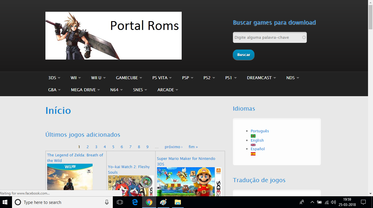 Portalroms- Best Websites To Download PSP Games