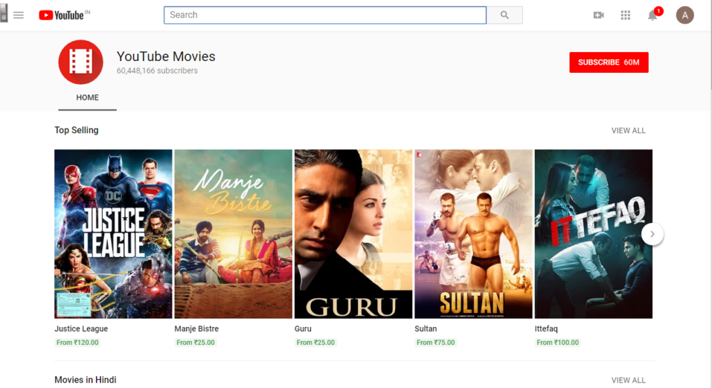 YouTube - Best Websites to Download Bollywood Movies for Free