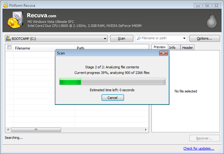 Recuva Best Data Recovery Softwares