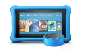 Echo Dot Kids Edition + Fire 7 Kids Edition