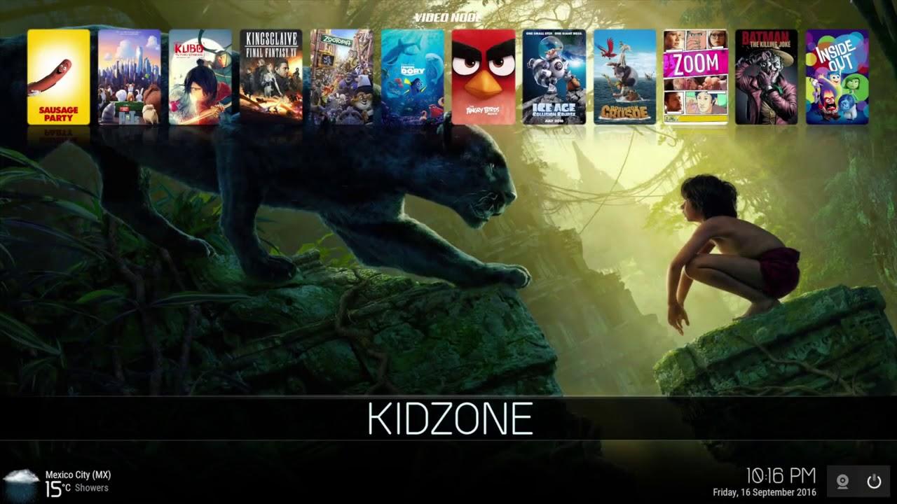 CellarDoor build for Kid Zone