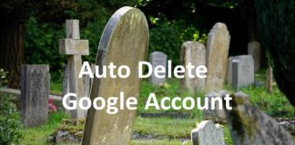 Auto Delete Google Account After Your Death