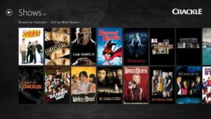 Crackle best PopCorn Time alternatives