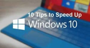 tips and tricks to speed up Windows 10