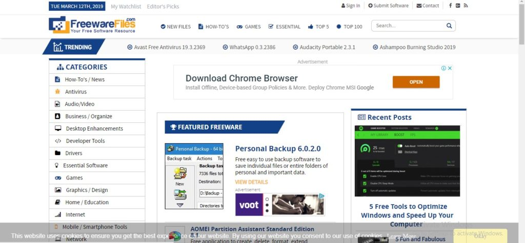 download free softwares