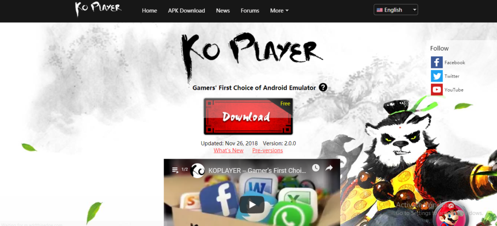 Best Android Emulators for your PC.