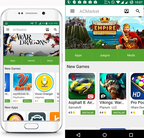 ACMarket Apps Store
