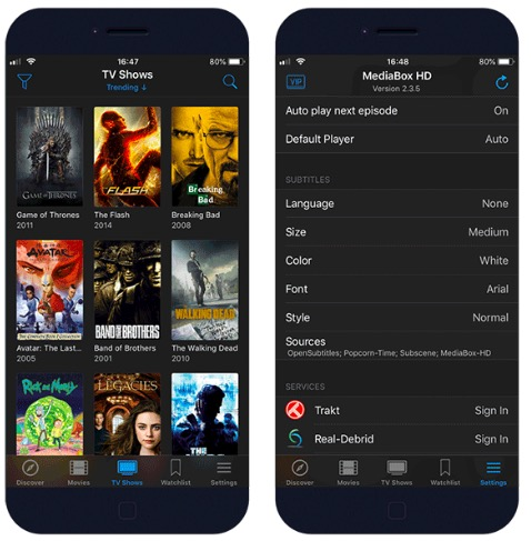 MediaBox HD Movies & TV Shows