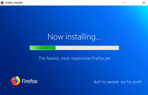 Download and Install Mozilla Firefox
