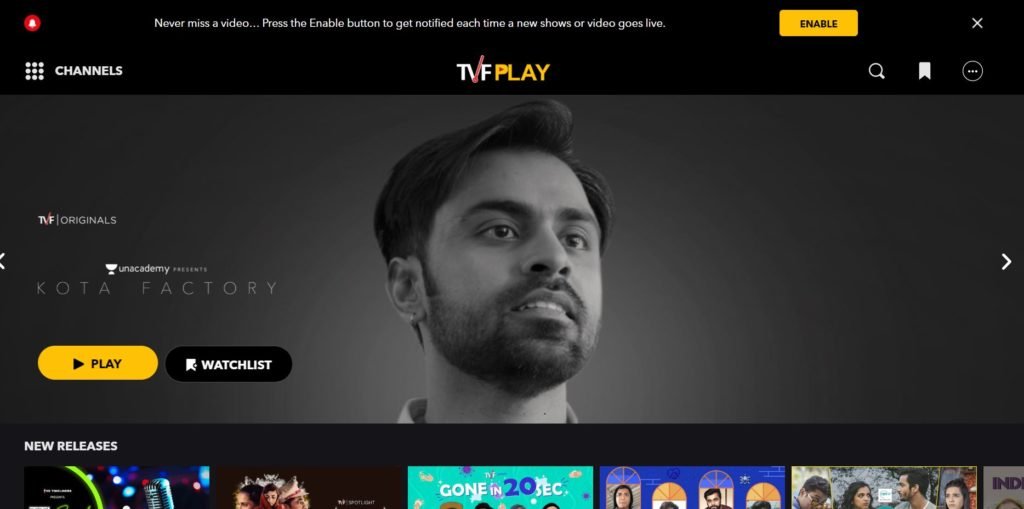 TVF- Best Websites To Download Web Series In Hindi